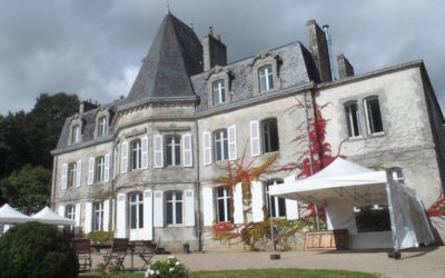 Manoir de kérouzien à Plomelin, traitement anti-mérule